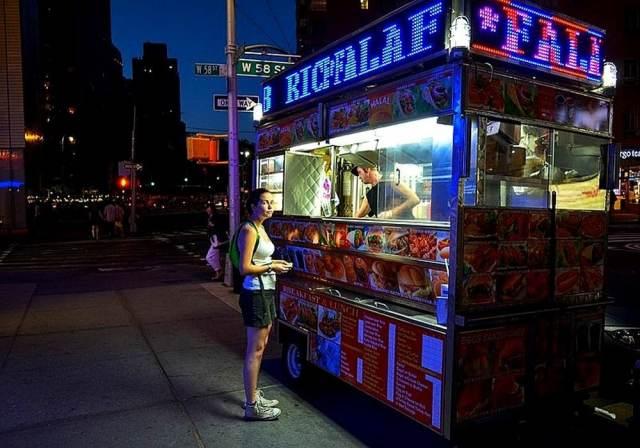 Le food truck : la street food des new-yorkais.
