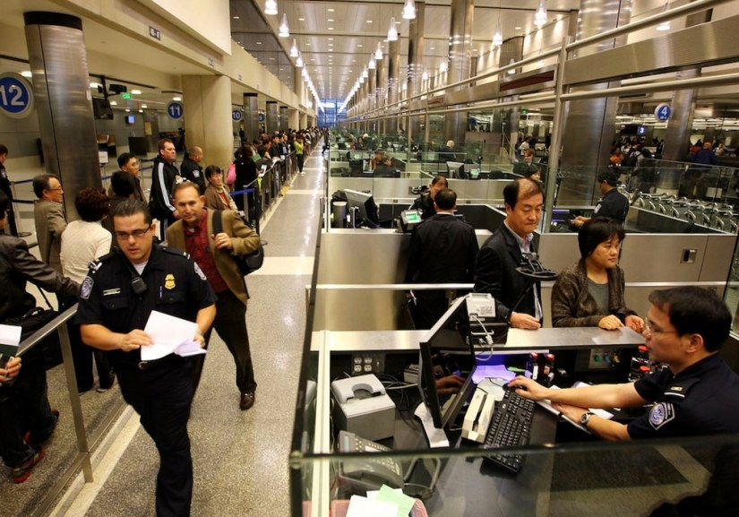 Immigration, douane : le déroulement de votre arrivée à New York.