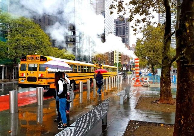 Le saviez-vous ? Les rues de Manhattan fument