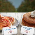 IHOP® Introduces Seasonally-Inspired Apple Ring & Pumpkin Spice Pancakes
