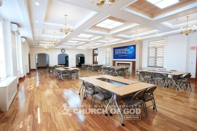 World Mission Society Church of God in New Windsor Dining Room