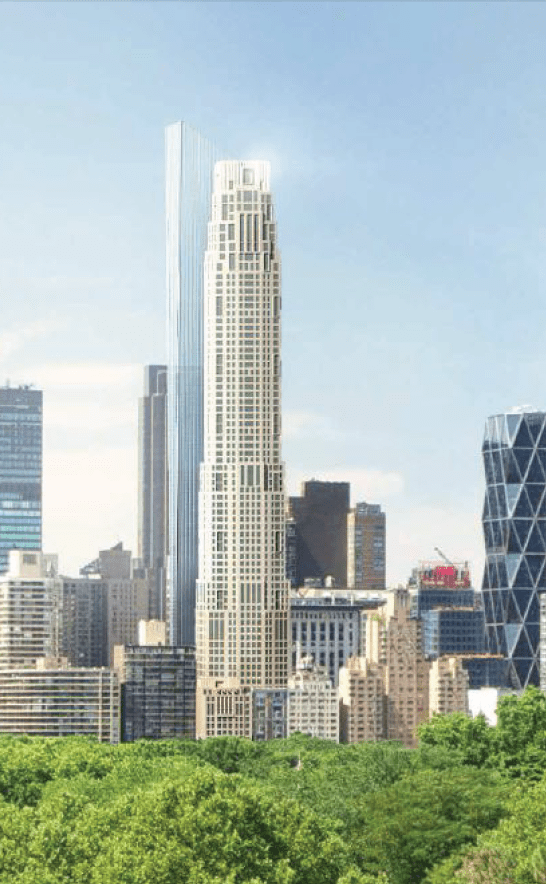 New Rendering Confirms Design For 220 Central Park South