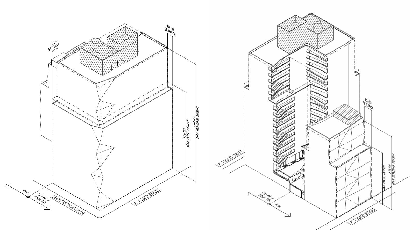 New Details Schematics For 18 Story 133 Unit Condominium