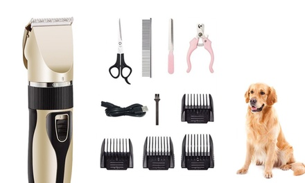 Professional Electric Pet Hair Shaver: Basic Kit ($29,95) or Upgraded Kit ($34)