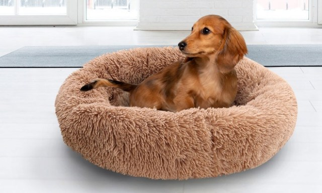 From $29 for a Donut Shaped Pet Calming Bed