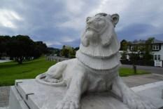 Löwe am Kriegerdenkmal