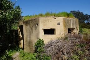 alter Bunker aus dem 2. Weltkrieg