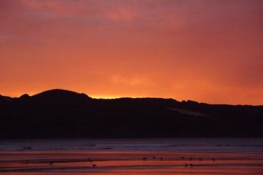 Sonnenuntergang bei Ahipara