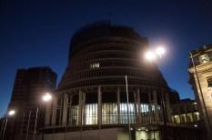 der Beehive, das Regierungsgebäude