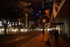 Straßenzug in Wellington