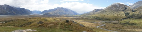 Panorama über Erewhon