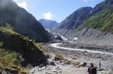 Fox River, Wasser vom Gletscher