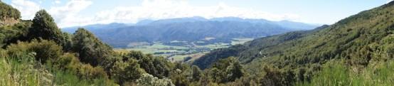 Panorama unterwegs