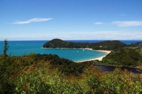 Strand im Abel Tasman National Park