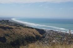 Blick auf die Pegasus Bay
