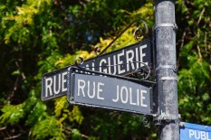 französische Straßennamen
