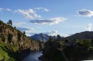Landschaft i.d.N. von Hamner Springs