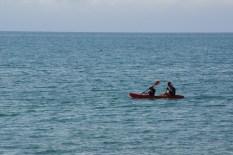 Kajak auf der Tasman Bay