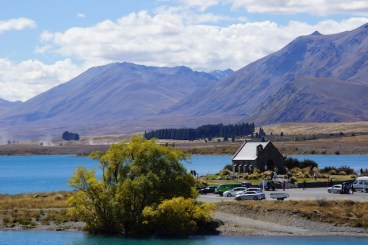 Church of the good Shepard am Lake Tekapo