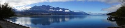 morgentliches Panorama über den Lake Wakatipu