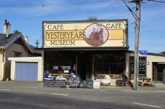 Das Yesteryears Cafe in Tuatapere