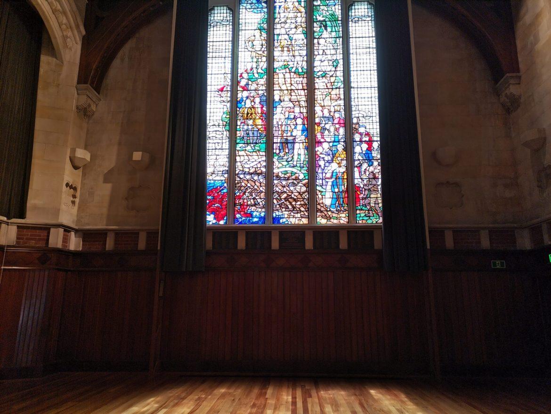 参观坎特伯雷大学旧址的大讲堂(2021.1.23)
