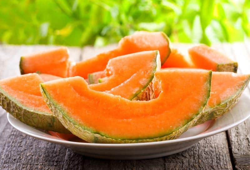 新西兰岩瓜(Rock Melon)脆甜软糯,消暑佳品