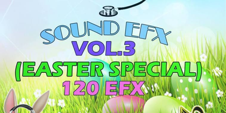 DJ TAY WSG - SOUND EFX PACK VOL. 3 (EASTER SPECIAL EFX 2018) 1