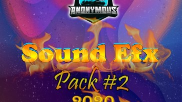 TEAM ANONYMOUS - SOUND EFX PACK VOL. 2 (EFX 2020) 2