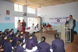 NSS camp was organized at Moti Ram Arya Sr. Sec. School