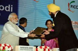 Majithia receives best performing state award from Prime Minister