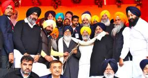 CM, Punjab exhorts people to pledge for giving verdict in favor of SAD-BJP alliance