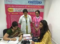 Free Week-long Gynae Check-up at JP Hospital, Zirakpur
