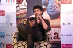 Arjun Kapoor in City to promote New Bollywood Movie Ki & Ka