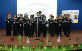 KG Kids Graduate to Class 1 at New Public School