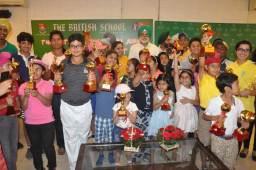 Jaiveeer and Amikul panaich lift the British School Junior Golf Cup