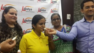 Arushi achieves Lakshya AIIMS Tops in City courtsey Dr Roohani