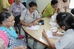Free multispecialty health camp by Max Hospital held at Patiala