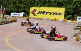 Aaroh Back on top in JK Tyre IndiKarting National Series