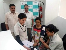 Free multi specialty health camp by Max Hospital held at Zirakpur