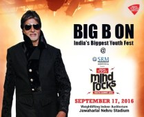 Big B set to Electrify Mind Rocks 2016