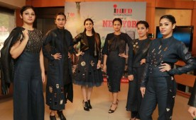INIFD proud moment : Designer student Anupreet's Lakme Fashion Week collection showcased