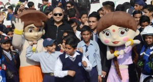 Honda inaugurates one-of-its-kind 'Road safety with Chhota Bheem' awareness campaign at Chandigarh