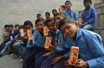 Dabur Donates Real Juice packs to support the nutritional needs of underprivileged children (Small)