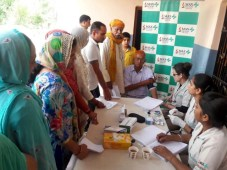 Free multispecialty Health Camp in Hamirpur