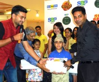 City Finale for BIG GOLDEN VOICE -JUNIOR by 92.7 BIG FM held at North Country Mall
