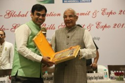 "Sudhanshu Jangir has has received Social Impact Excellence award for his ""Agri Entrepreneurship & Skill Development"" initiative"