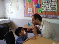 Health Checkup Camp at Brilliance World School