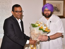 Goenka Proposes Punjab CM Investment & Bussiness Expansion in State