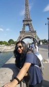 Singing Sensation Swati performs and also gets Awarded atop Eiffel Tower